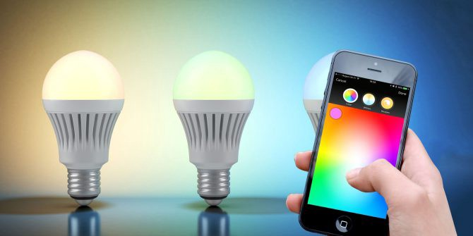 Install smart light bulbs in your home